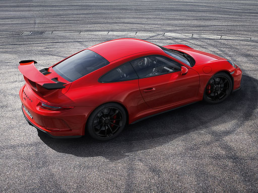 Born in Flacht. The new 911 GT3.