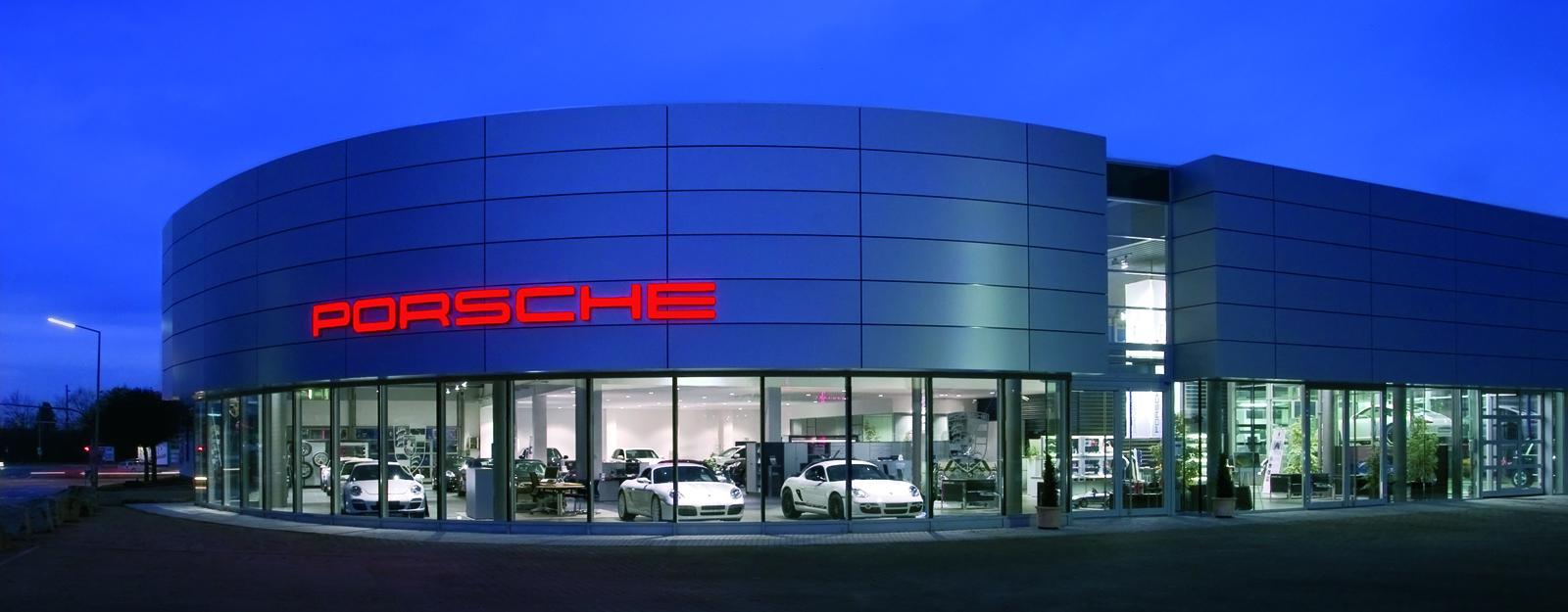 Porsche Zentrum Karlsruhe » Herzlich willkommen