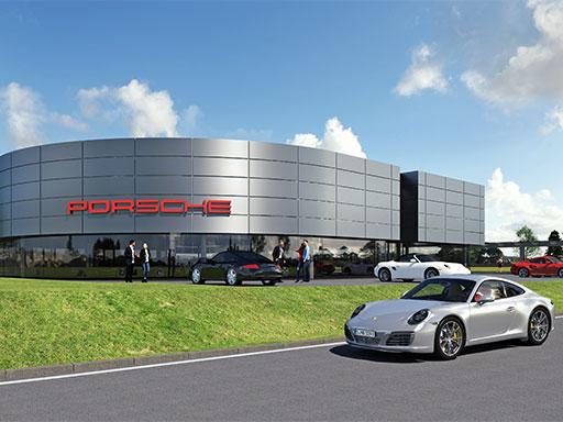 Das neue Porsche Zentrum Landau.